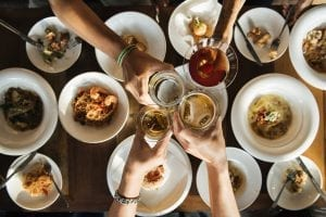 comidas para grupos en Sevilla